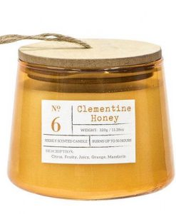 Clementine Honey Highly Scented Candle