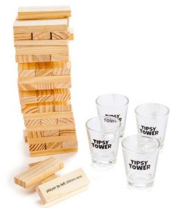 TipsyTowerDrinking Game