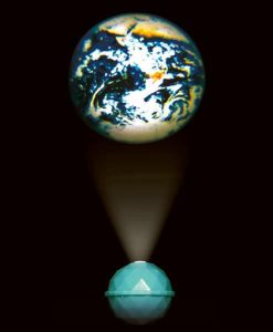 Dome Earth Projector