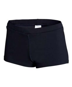 Speedo Womens Boy Leg Short Black