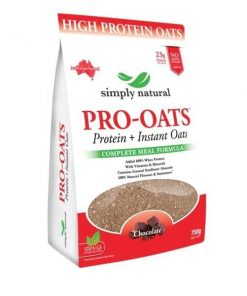Simply Natural Pro-Oats Protein Instant Oats - 750g