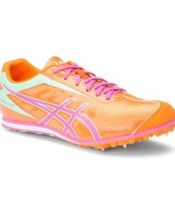 Asics Hyper LD 5 - Womens Track and Field Shoes - Mango/Rose/Mint
