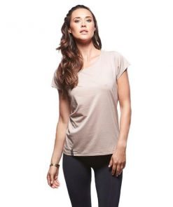 Bayse Stella Parade Womens Training Top - Nude
