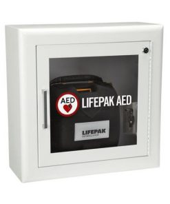 Surface Mount Wall Cabinet with Alarm and Strobe