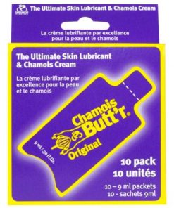 Chamois Butt'r Original - Non-Greasy Cycling Lubricant & Chamois Cream - 10 Pack Of 9ml Sachet