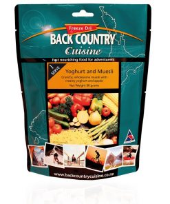 Back Country Cuisine Yoghurt & Muesli - Single