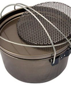 Aussie Camp Oven Jumbo 15 Inch - Trivet Not Included