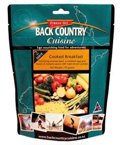 Backcountry Cooked Breakfast Food - 2 Serve