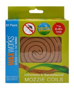 Waxworks Insecticide Coils - 10 Pack