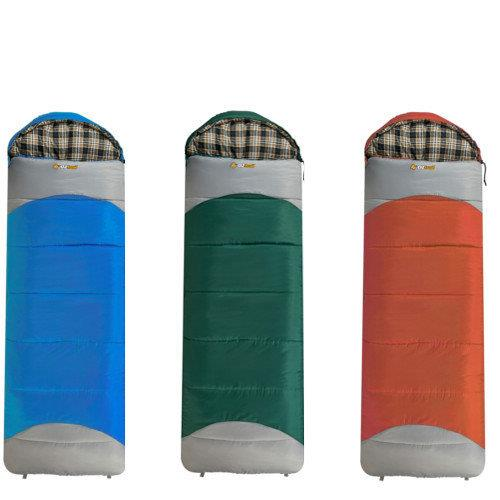 OZtrail Mountain View -7 Hooded Sleeping Bag -  Lucky Dip - Any Colour!