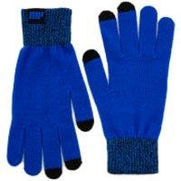 Knitted Gloves – Blue - L/XL - Blue
