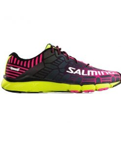 Salming Speed 6 - Womens Running Shoes - Black/Safety Yellow