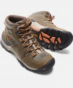KEEN Gypsum II Mid WP Womens Boots - Cornstock Gold Coral - Size 9.5 US