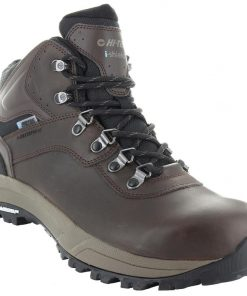 HI-TEC Altitude VI I WP Mens Boots - Dark Chocolate/Dark Taupe/Black - Size: 15 US