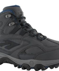 HI-TEC Lima Sport WP Mens Boots - Charcoal/Grey/Blue - Size: 8 US