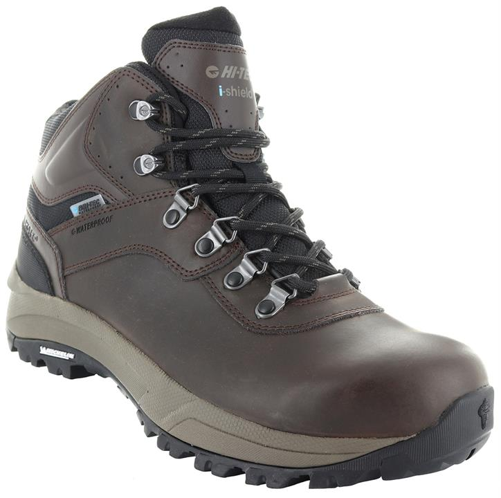 HI-TEC Altitude VI I WP Mens Boots - Dark Chocolate/Dark Taupe/Black - Size 8.5 US