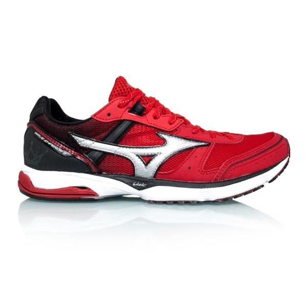 Mizuno Wave Emperor 3 - Mens Running Shoes - Chinese Red/White/Black