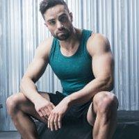 Men's Workout Outfit - M - M - Green