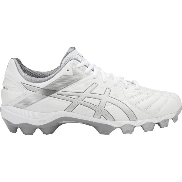Asics Gel Lethal Ultimate IGS 12 - Mens Football Boots - White/Silver/Aluminium