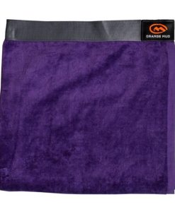 Orange Mud Transition Towel and Seat Cover - Purple