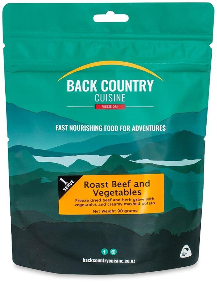Back Country Cuisine Roast Beef and Vegetables 1 Serve