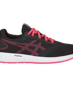Asics Patriot 10 GS - Kids Running Shoes - Black/Pink Cameo