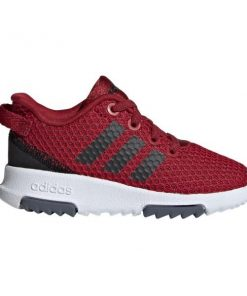 Adidas Cloudfoam Racer TR - Toddler Running Shoes - Maroon/Black/Onix