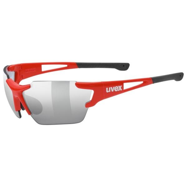 UVEX Sportstyle 803 Race Variomatic Light Reacting Multi Sport Sunglasses - Small - Red