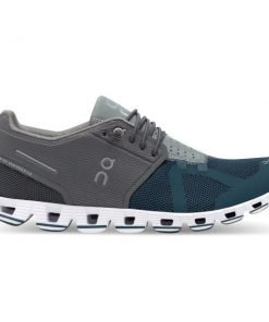 On Cloud 50/50 - Womens Running Shoes - Grey/Storm