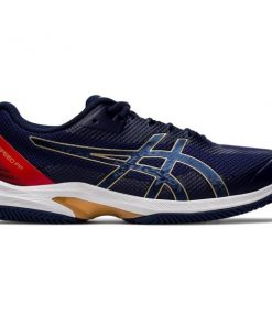 Asics Court Speed FF Clay - Mens Tennis Shoes - Peacoat/White