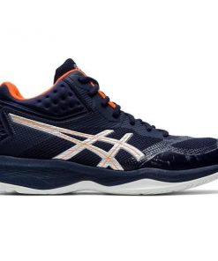 Asics Netburner Ballistic FF MT - Mens Indoor Court Shoes - Midnight/Pure Silver