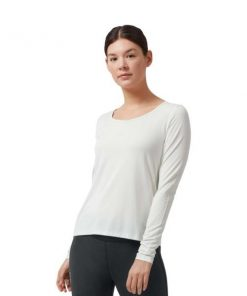 On Running Performance Long-T Womens Running Top - Ice