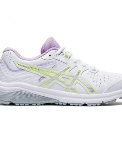 Asics GT-1000 SL GS - Kids Cross Training Shoes - White/Pure Silver