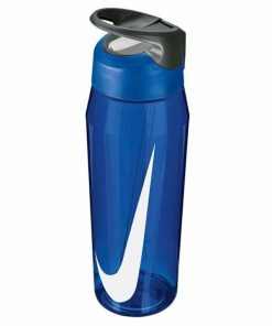 Nike TR Hypercharge Straw BPA Free Sport Water Bottle - 946ml - Game Royal/Cool Grey/White