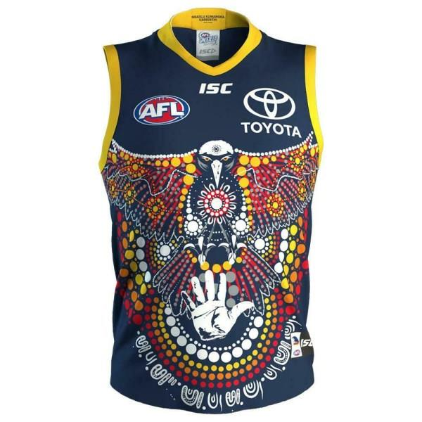 ISC Adelaide Crows Junior Kids Indigenous Guernsey 2020 - Navy
