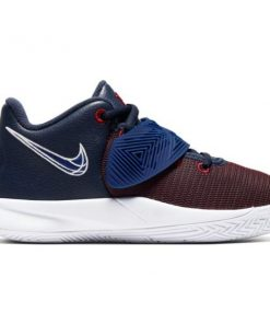 Nike Kyrie Flytrap III PSV - Kids Basketball Shoes - Obsidian/Deep Royal Blue/Gym Red/White