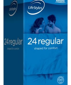 Ansell Lifestyles Regular Condoms (24 Pack)
