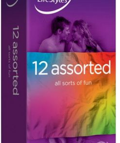 Ansell LifeStyles Assorted Condoms (12 Pack)