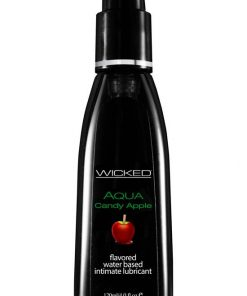Wicked - Aqua Candy Apple Flavoured Lube - 120ml