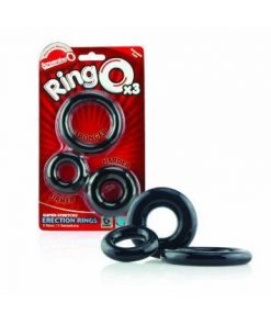The RingO Cock Ring 3 Pack by Screaming O