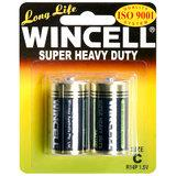 WINCELL C Super Heavy Duty Batteries (2 Pack)