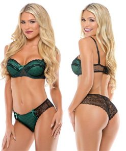 Tease - Kelly Molded Cup Bra and Panty Set (M/L)