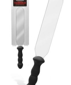 """Doc Johnson Kink 18"""" Polycarbonate Paddle with Insertable Silicone Handle"""
