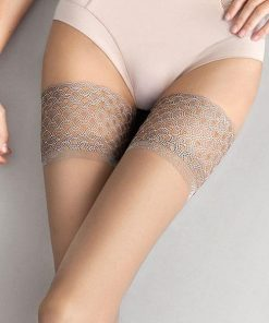 Fiore Nude Luxury Stay-Up Thigh Highs
