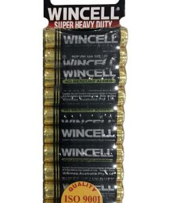 Wincell AAA Super Heavy Duty Batteries (10 Pack)