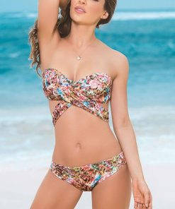 Mapale Swim & Beachwear Classic Hipster in Spring Print