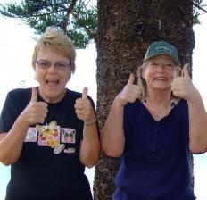 Colleen and Cheri