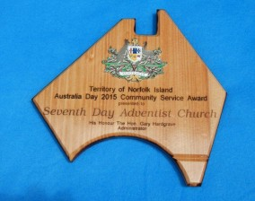 Norfolk Island Community Service Award