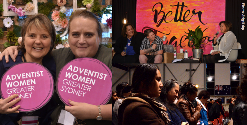 Sydney Adventist Women Breathe 2016