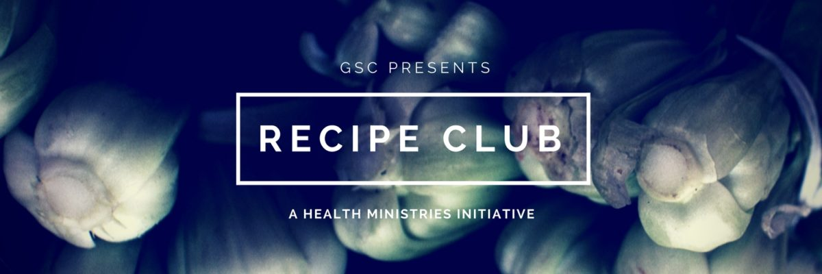 Greater Sydney Conference Recipe Club